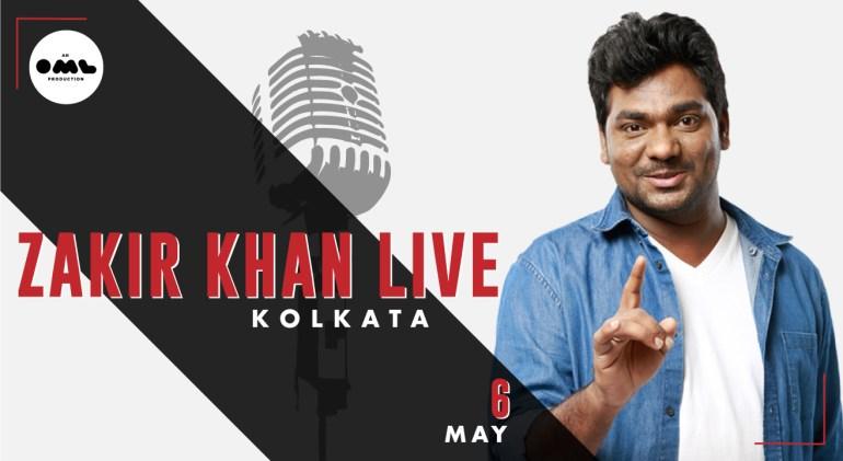 Zakir Khan Live in Kolkata on May 6, 2018