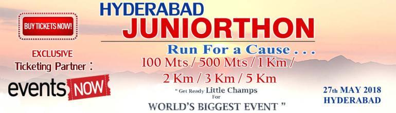 Hyderabad Juniorthon 2018 on May 27, 2018