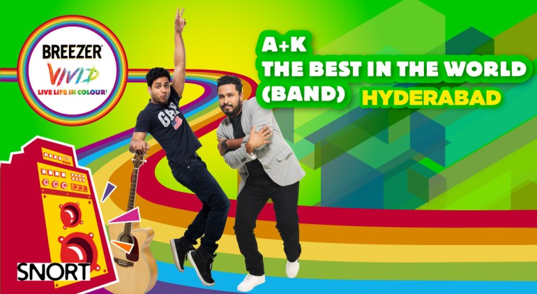 Breezer Vivid A+ K Tour - The Best In The World (Band) - Hyderabad