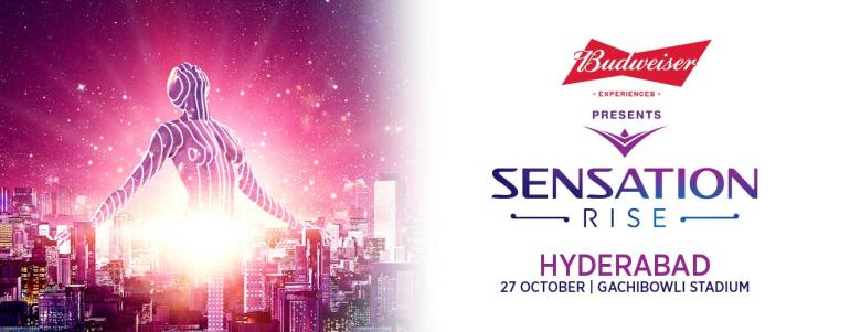 Sensation Rise 2018 in Hyderabad on October 27, 2018