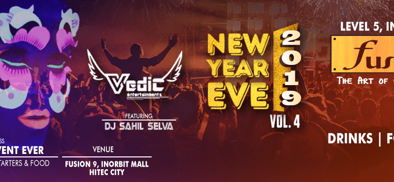New Year Eve Vol 4.0 at Fusion 9, Hyderabad