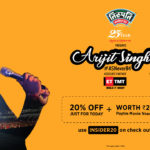 Arijit Singh Live ASNeverB4: Celebrating 20 years of Gypsy Events