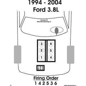 SOLVED: Spark plug wiring diagram for 2002 ford mustang