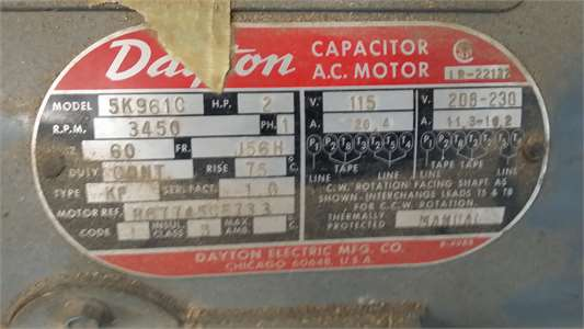 Dayton Motor Wiring Diagram Dayton Motor Wiring Diagram On Dayton