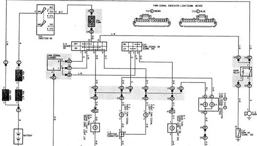 SOLVED: Wiring diagram for turn signals on a 1997 toyota