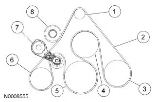 ford serpentine belt diagram 2002 3 prong outlet wiring 60 solved fixyaserpentine 2d0a4d2 jpg