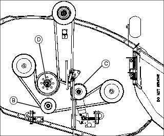SOLVED: John deere traction drive belt diagram for x304