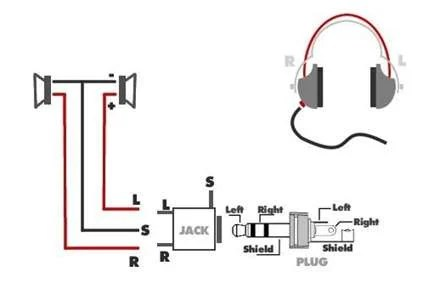 headphones wiring diagram,