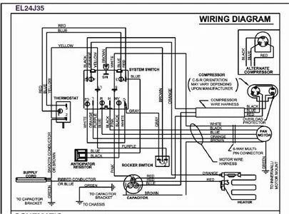 Need wiring diagram for Friedrich CP24F30 air conditioner
