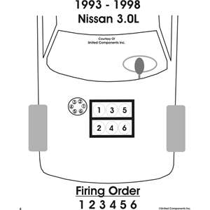 SOLVED: I need to know the firing order of Nissan Quest
