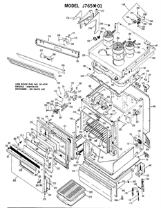 SOLVED: Need wiring diagram for old 1960's General Electri