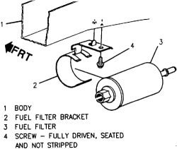 SOLVED: How do you change the fuel filter in 2005 chevy