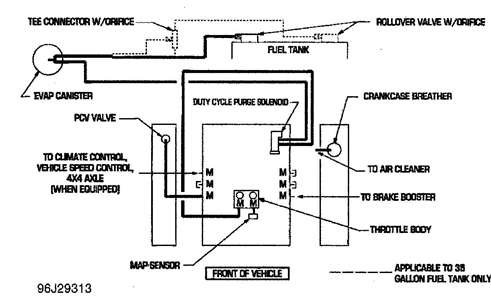Heater control vacuum diagram/96 dodge dakota automatic