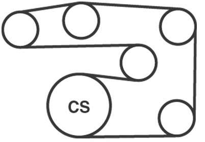 Routing Diagram For Serpentine Belt On 2008 Dodge Charger