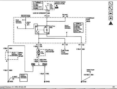 I need a wiring diagram for the fuel pump circuiton a 1999
