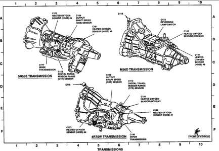 SOLVED: I need a diagram of the transfer case of my 1999