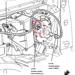 1998 Ford Expedition Radio Wiring Diagram For Genie Intellicode Garage Door Opener Can T Find Blower Motor Resistor On 2009 Fixya Netvan 210 Png