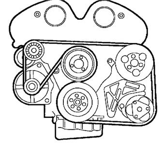 Serpentine Belt Diagram Together With Fuse Box Diagram For