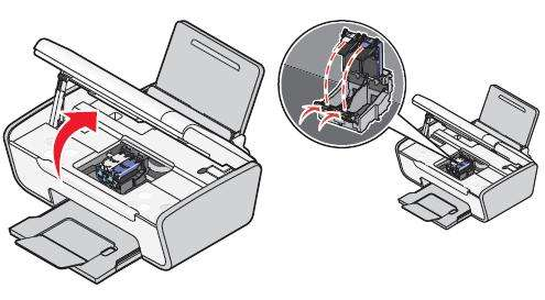 SOLVED: How to change cartridge on Lexmark 2600 All in One