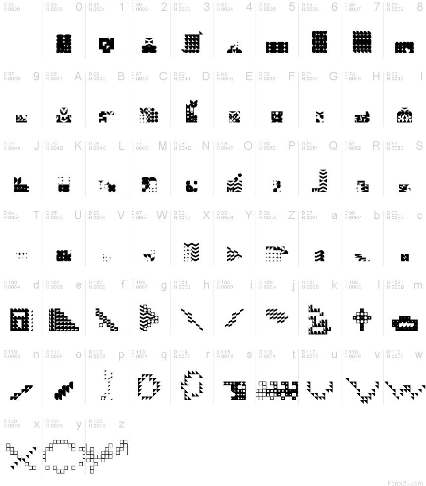 alien(secret)language Regular font