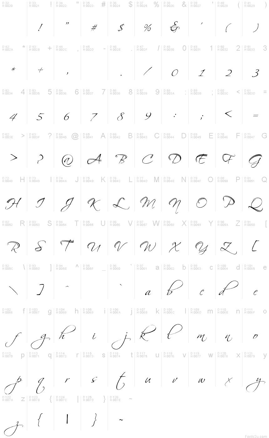 BallroomWaltz font