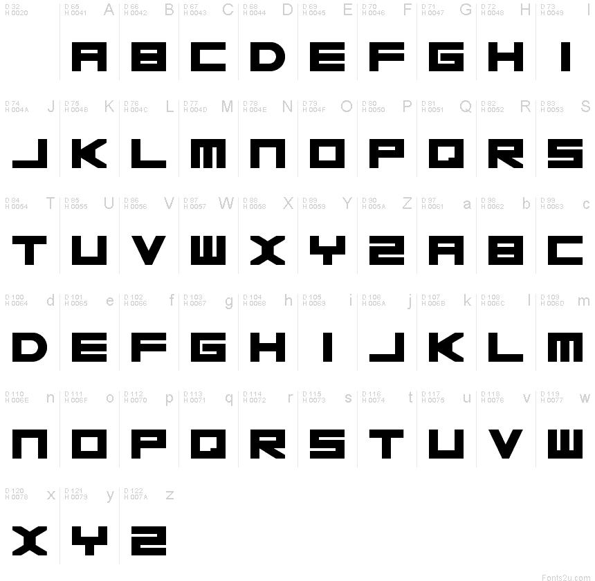 Basica 2.0 font