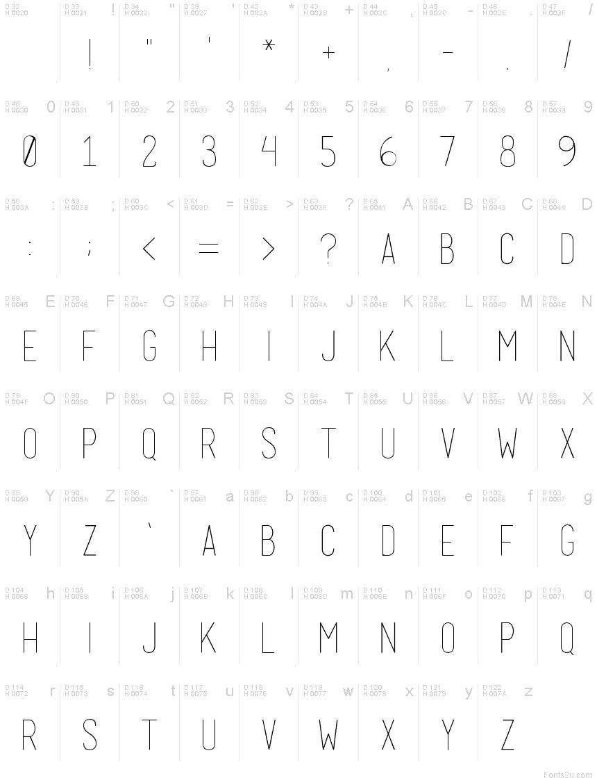 basicl font