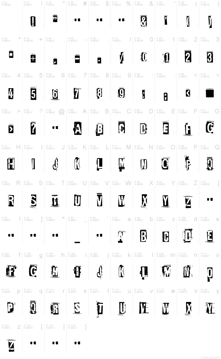 EdGein-Gwilty font