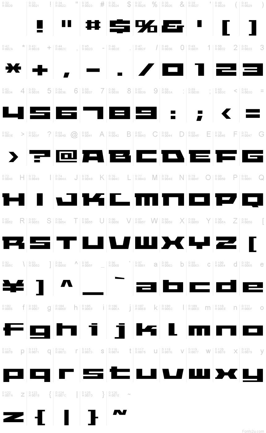 ELEPHANT A Regular font