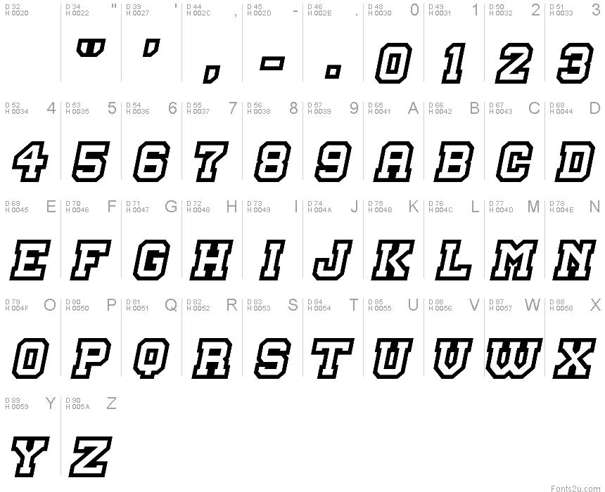 Master Droid font