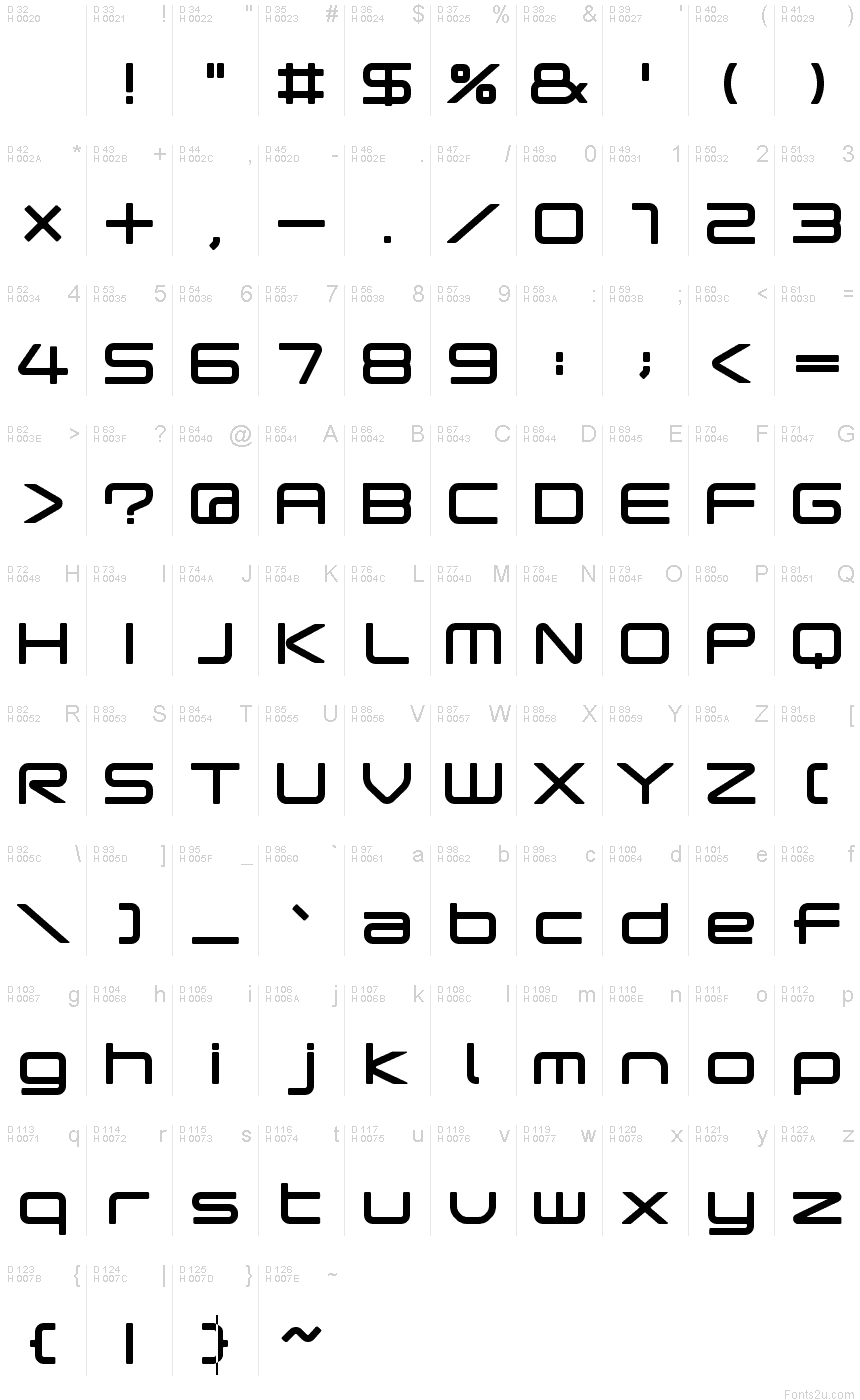 popstarregular font