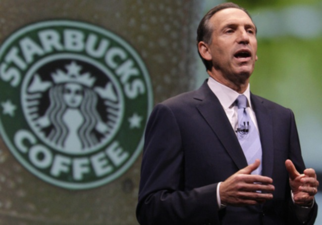 Why Starbucks Howard Schultz Looks For Better Race Relations