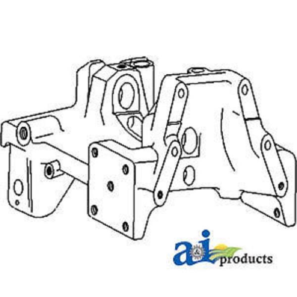 A-1684301M91 Massey Ferguson Parts FRONT AXLE SUPPORT 165
