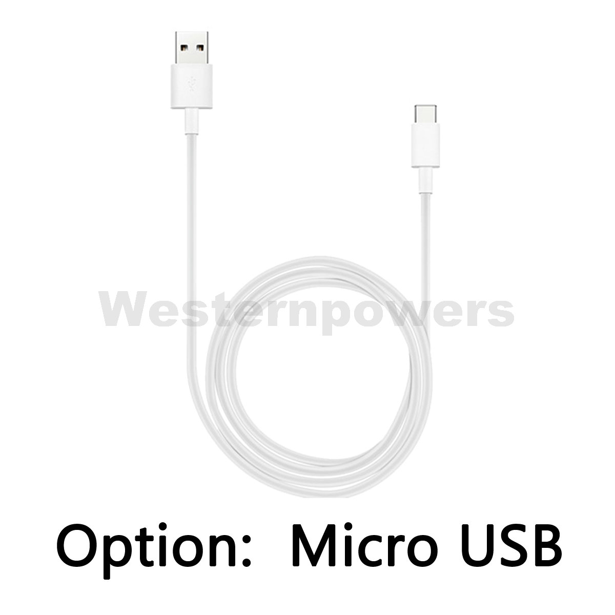 100x Wholesale White High Speed Sync Data Charging Micro