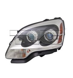 left side replacement headlight assembly for 2007 2008 gmc acadia 1st design  [ 1000 x 1000 Pixel ]