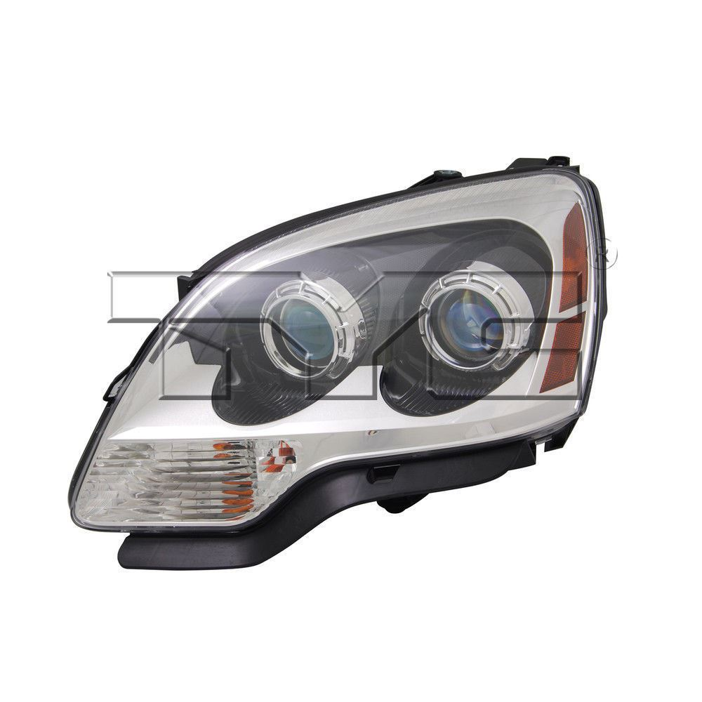 hight resolution of left side replacement headlight assembly for 2007 2008 gmc acadia 1st design