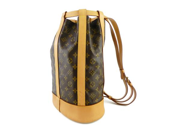 Louis Vuitton Monogram Randonnee Bucket Sling Shoulder Bag  eBay
