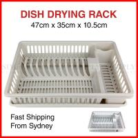 Plastic Dish Rack Plate Drying Cutlery Holder Drainer ...