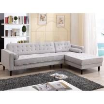 Aiden Scandinavian Sofa With Chaise