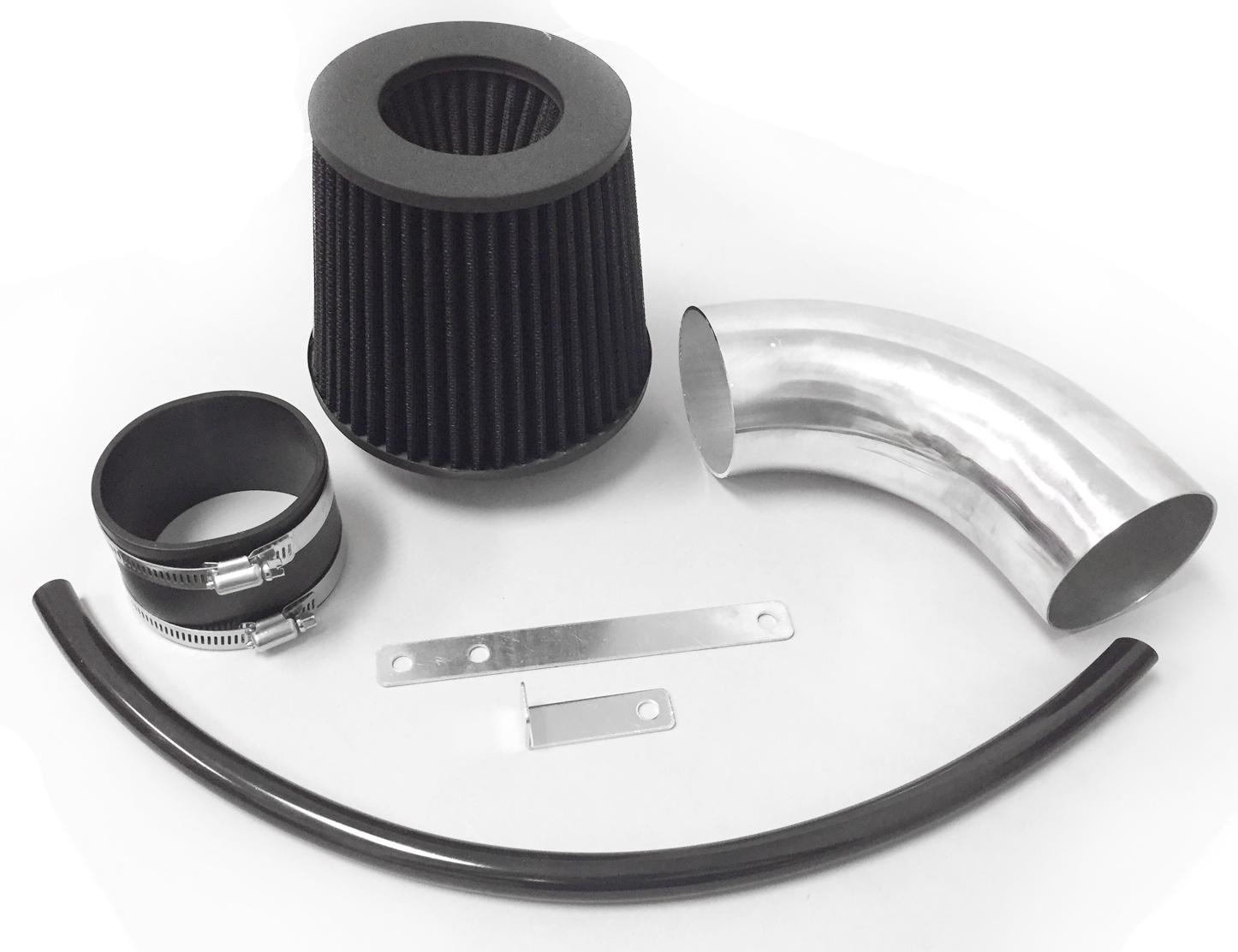 hight resolution of all black for 2012 2016 dodge charger srt8 6 4l v8 air intake kit filter