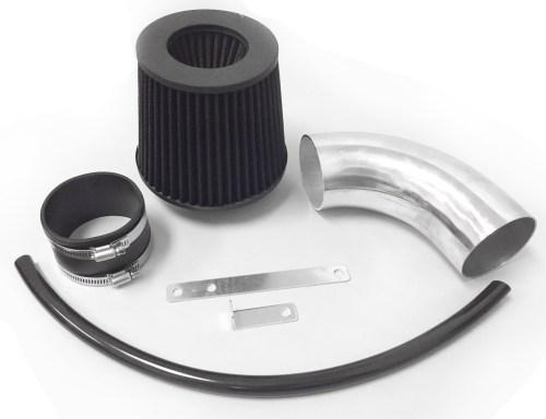 small resolution of all black for 2012 2016 dodge charger srt8 6 4l v8 air intake kit filter