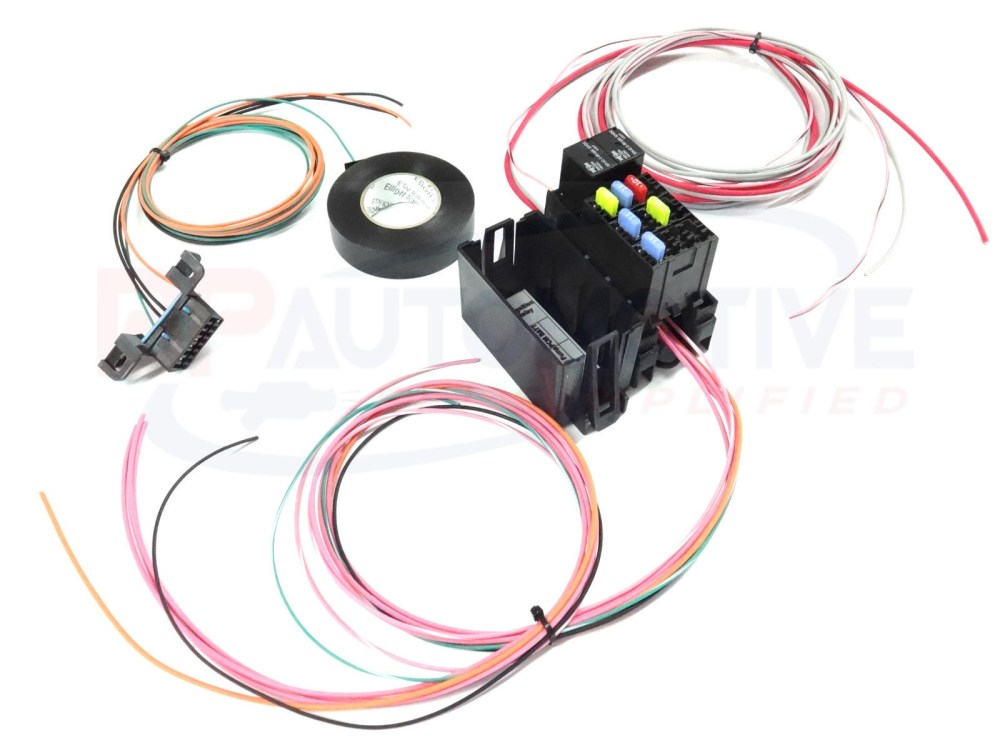 medium resolution of ls1 diy wiring harness kit wiring diagram database ls swap diy harness rework fuse block kit