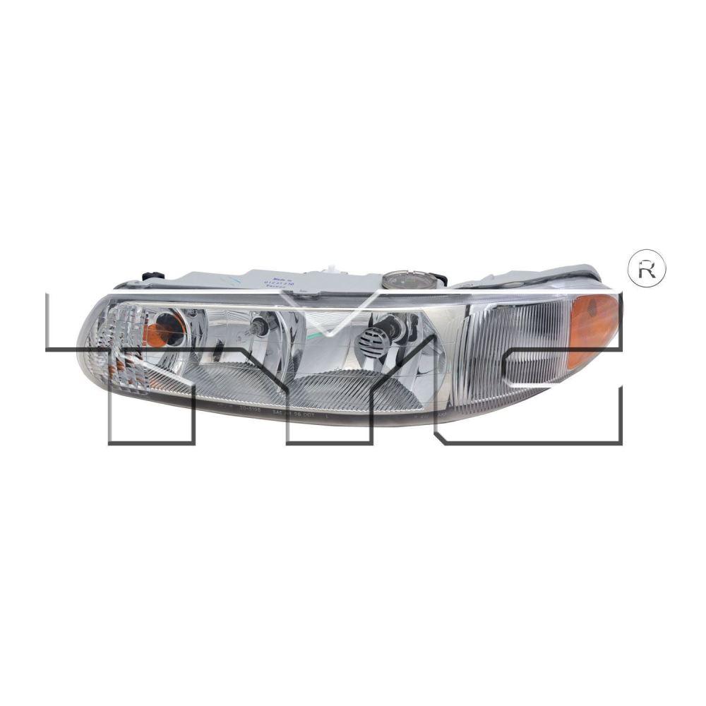 medium resolution of left side headlight assembly for 1997 2004 buick regal 1997 2005 century