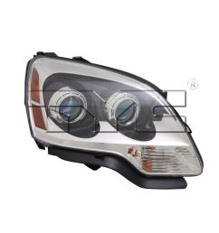 right side replacement headlight assembly for 2007 2008 gmc acadia 1st design  [ 1000 x 1000 Pixel ]