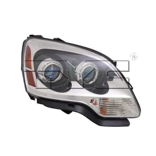 small resolution of right side replacement headlight assembly for 2007 2008 gmc acadia 1st design