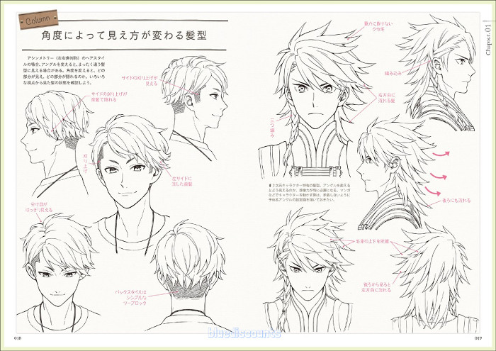 anime mens hairstyles