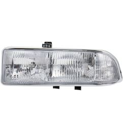 details about left side headlight assembly for 1998 2004 chevrolet s10 1998 2005 blazer [ 1500 x 1500 Pixel ]