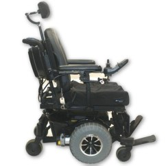Quantum 600 Power Chair Tufted Vanity With Back Off Road Wheelchair Hd Knobby Tires Pride