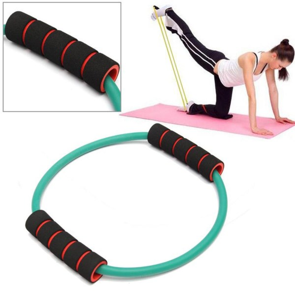 Resistance Tube Exercise Bands Workout
