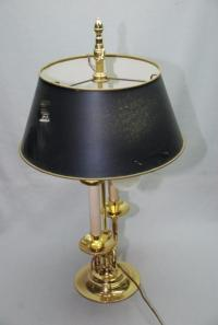 BALDWIN BRASS BOUILLOTTE SERPENTINE DOUBLE LAMP WITH ...